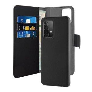 Samsung Galaxy A52s (5G) / A52 (4G / 5G) Puro Wallet Detachable 2-In-1 Deksel - Svart