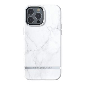 Richmond & Finch iPhone 13 Pro Max Freedom Deksel  - White Marble