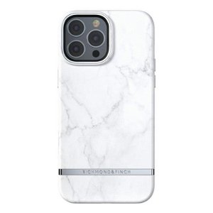 Richmond & Finch iPhone 13 Pro Freedom Deksel - White Marble