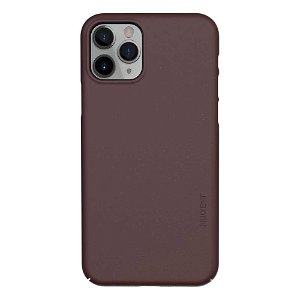 Nudient Thin Case V3 iPhone 11 Pro Deksel - Sangria Red