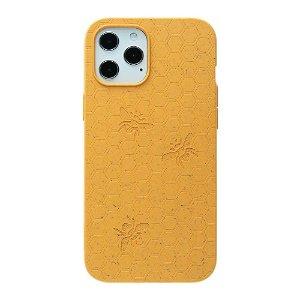 Pela Classic Honey Comb Miljøvennlig Deksel Til iPhone 12 / 12 Pro - Oransje