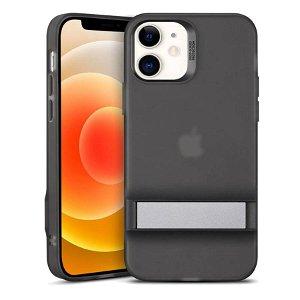 iPhone 12 Mini ESR Air Shield Boost Deksel m. Kickstand - Sort