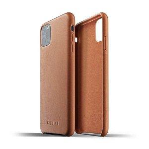 Mujjo iPhone 11 Pro Max Leather Case Brun