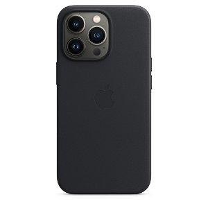 Original Apple iPhone 13 Pro Skinn MagSafe Deksel Midnatt (MM1H3ZM/A)