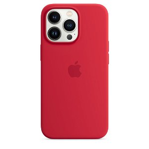 Original Apple iPhone 13 Pro MagSafe Silikondeksel (PRODUCT)RED (MM2L3ZM/A)