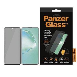 PanzerGlass Privacy Samsung Galaxy S20+ (Plus) Panserglas Svart - Case Friendly