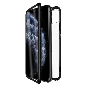 QDOS iPhone 11 OptiGuard Infinity Glass Mobildeksel - Svart