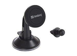 Sandberg In Car Mobile Magnet Stand Kit / 2in1 - Svart